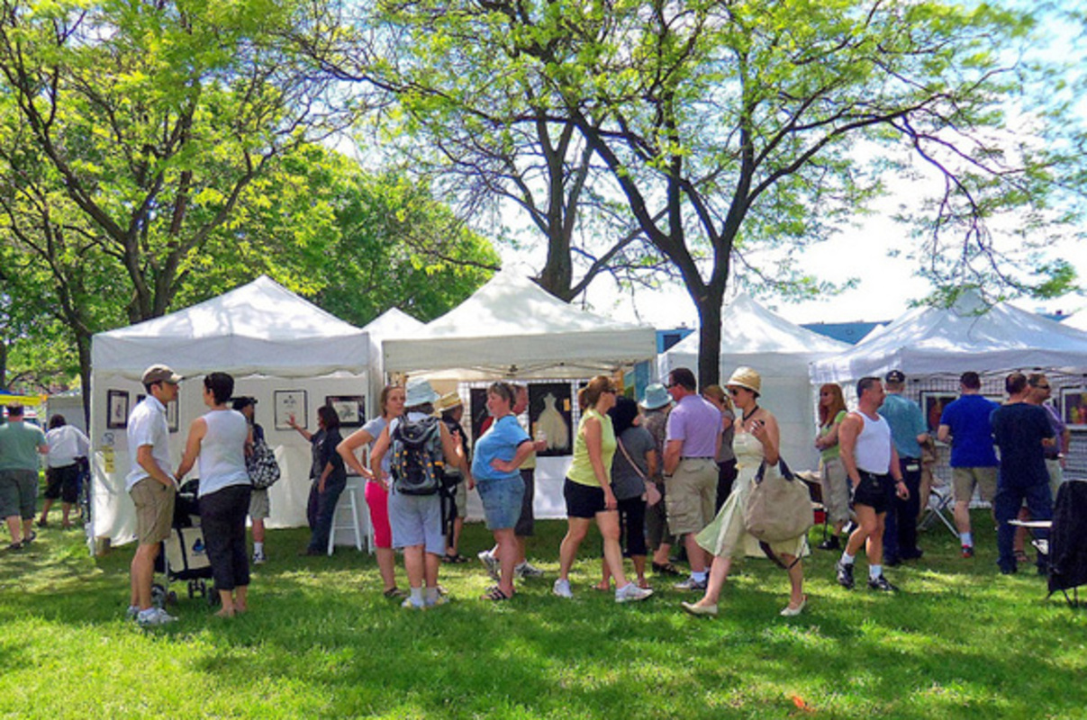 outdoor art fairs toronto