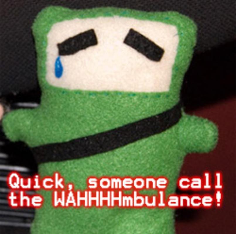 You made sad green ninja even sadder