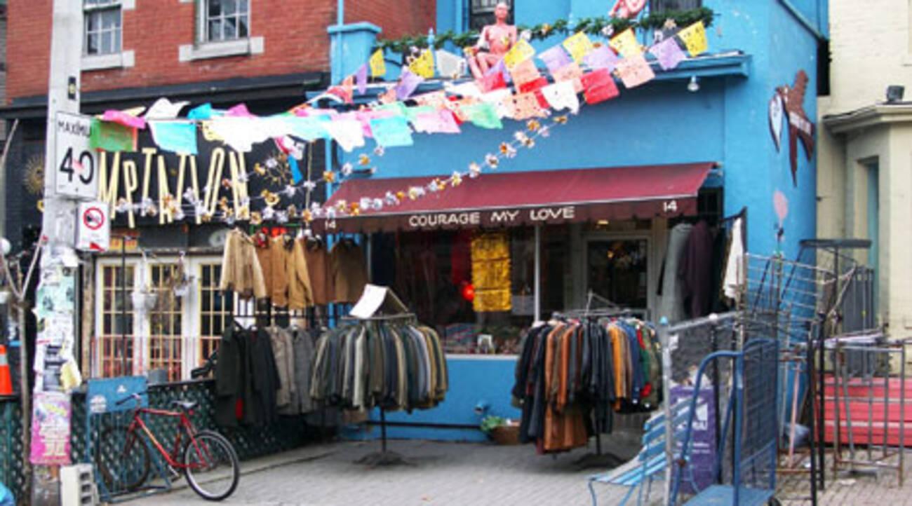 Kensington Market Toronto Vintage Clothing Stores