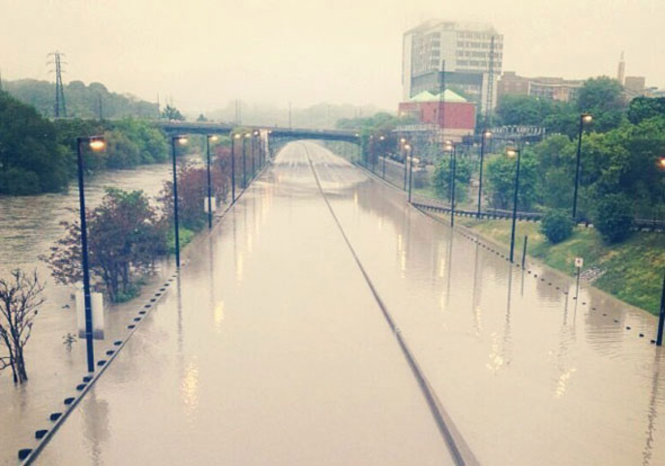 Dvp Closure Gallery: Photos Of The Don Valley Flood On Instagram