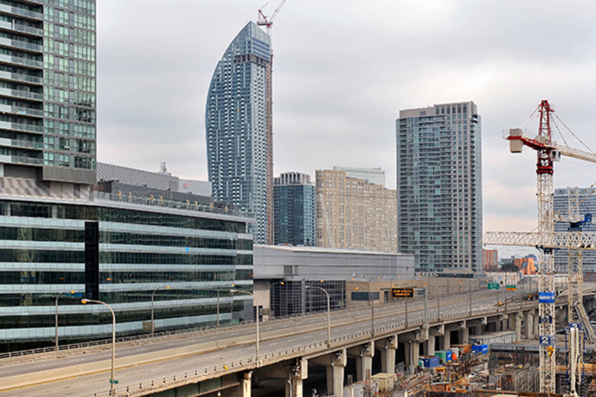 Gardiner Lane Closure Toronto