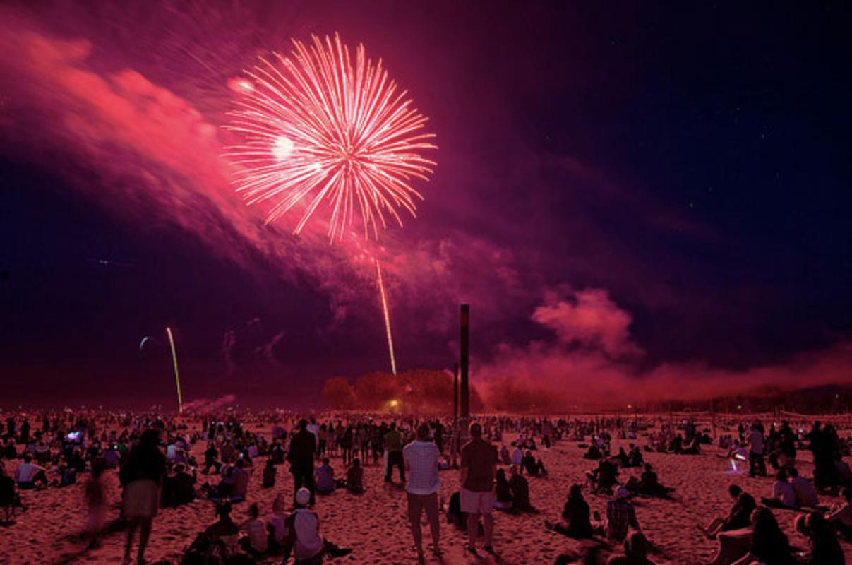 canada day 2012 toronto fireworks
