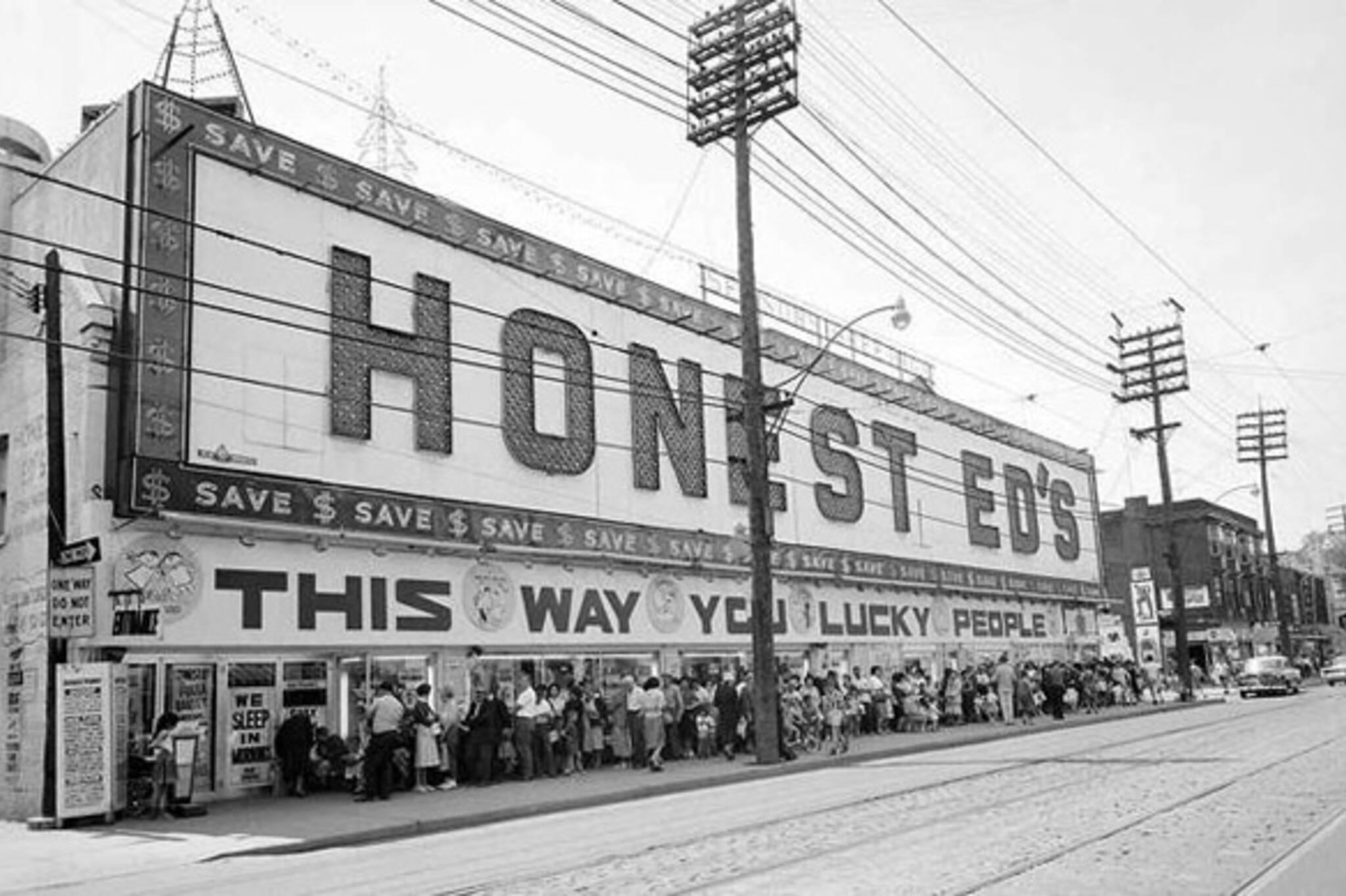 Vintage Signage Honest Ed's Toronto