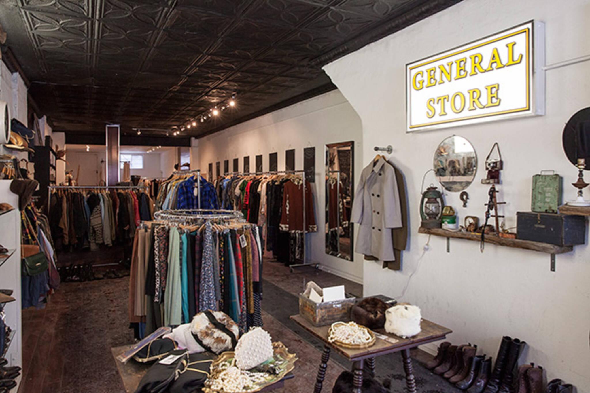 Vintage clothing shop bloordale
