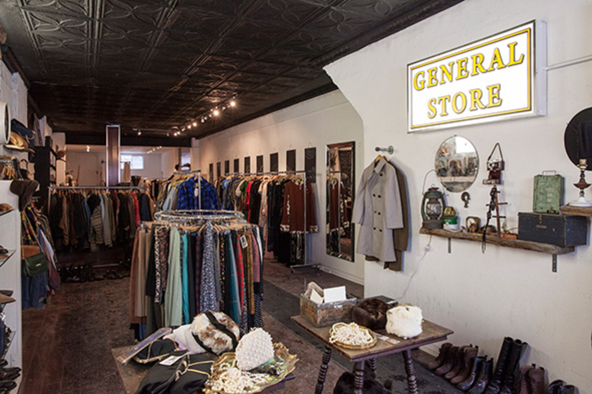 Vintage clothing shop bloordale