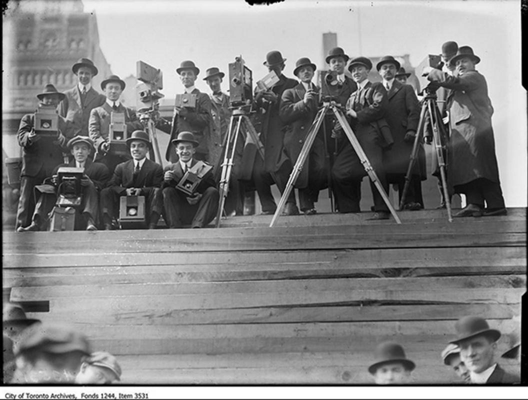 Toronto press corps