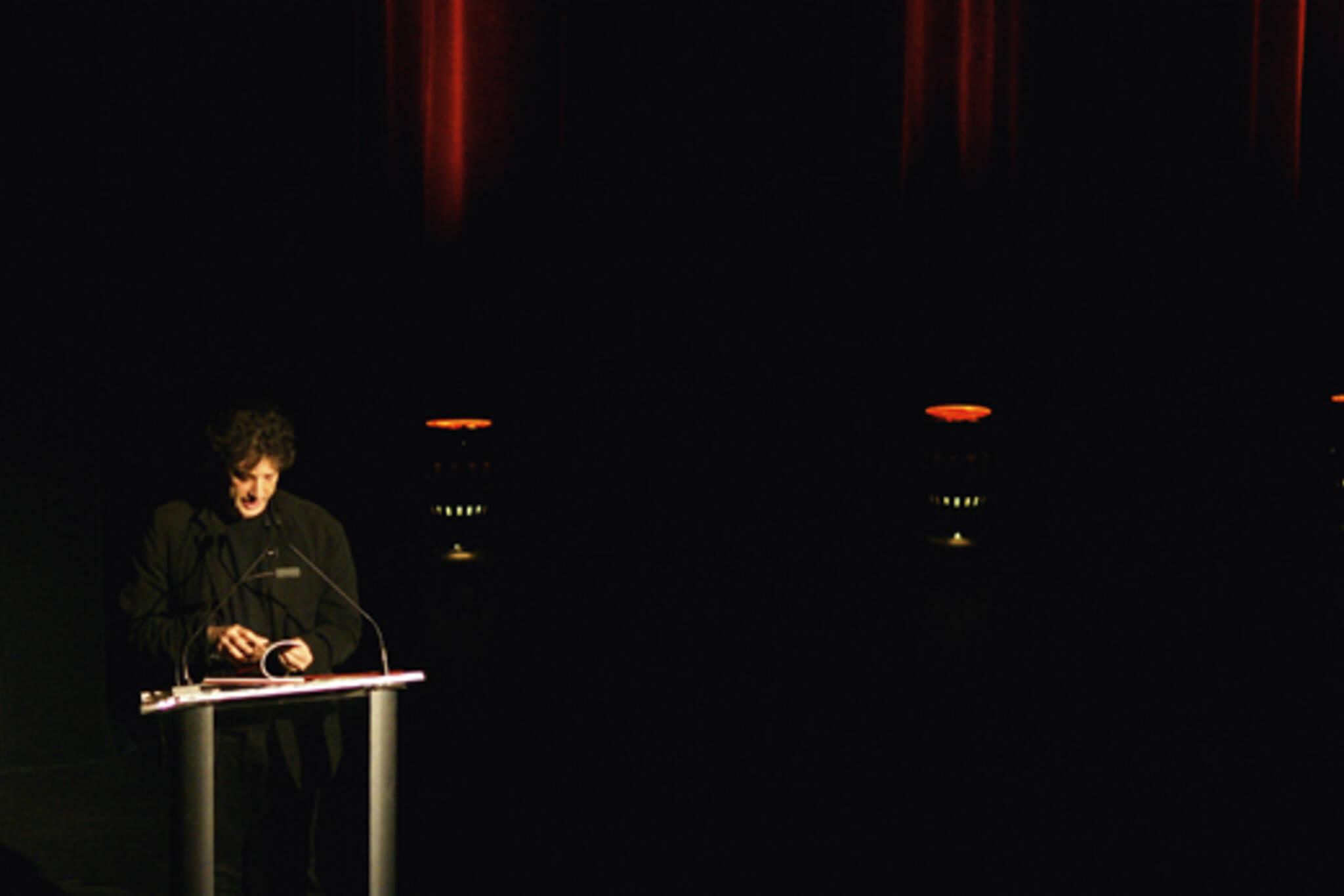 Neil Gaiman at LuminaTO festival