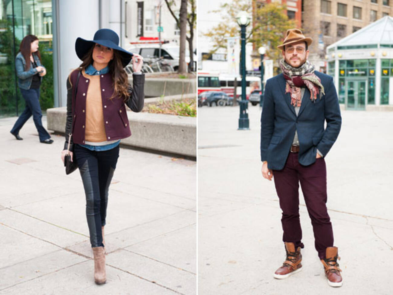 Street Style Hats Galore At Toronto Fashion Week