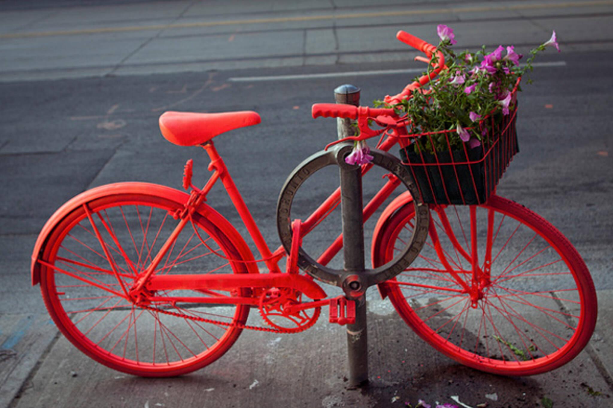 Neon Bike Art Project Toornto