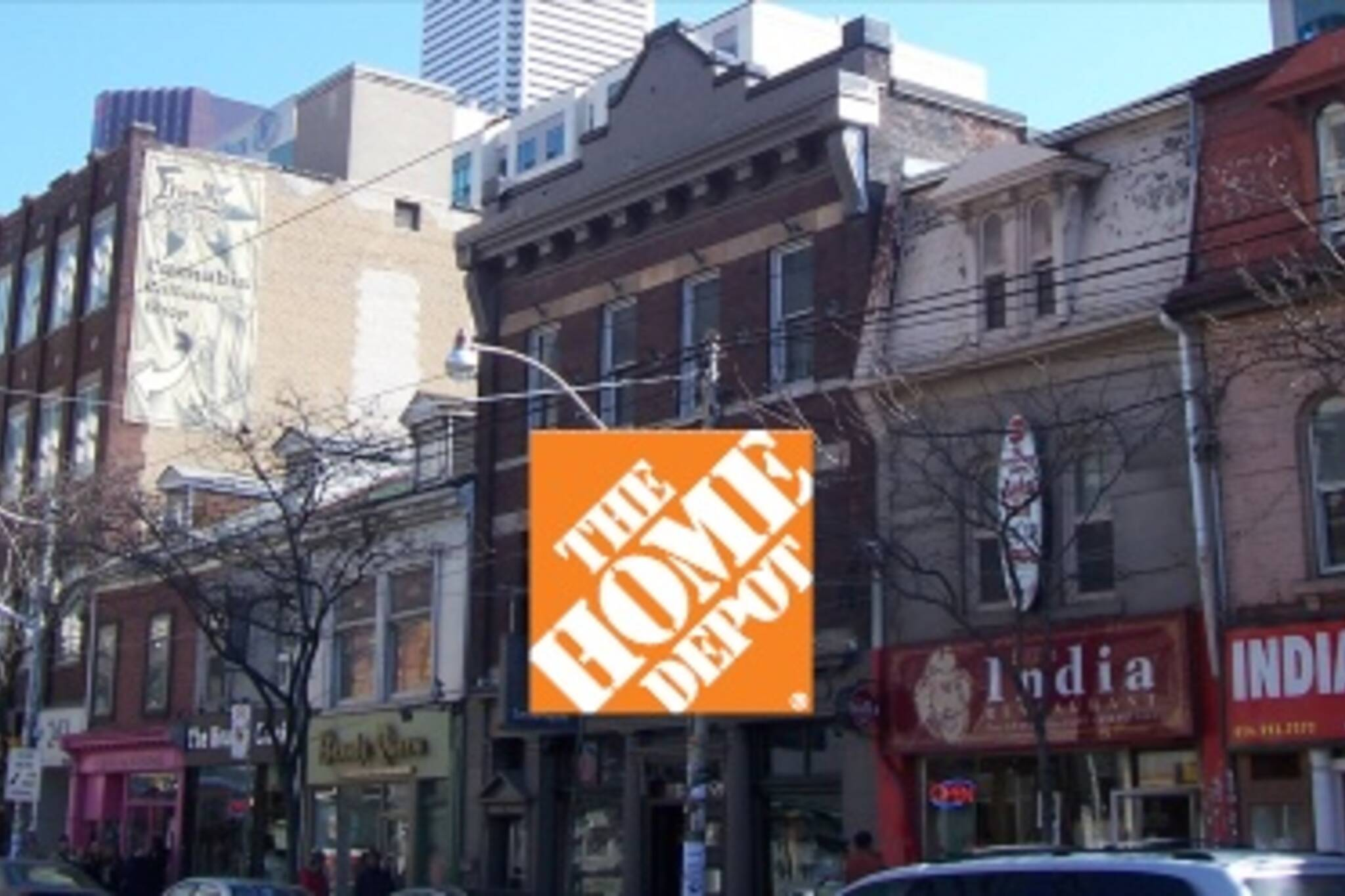 Home Depot - Coming to a Hipster Paradise Near You
