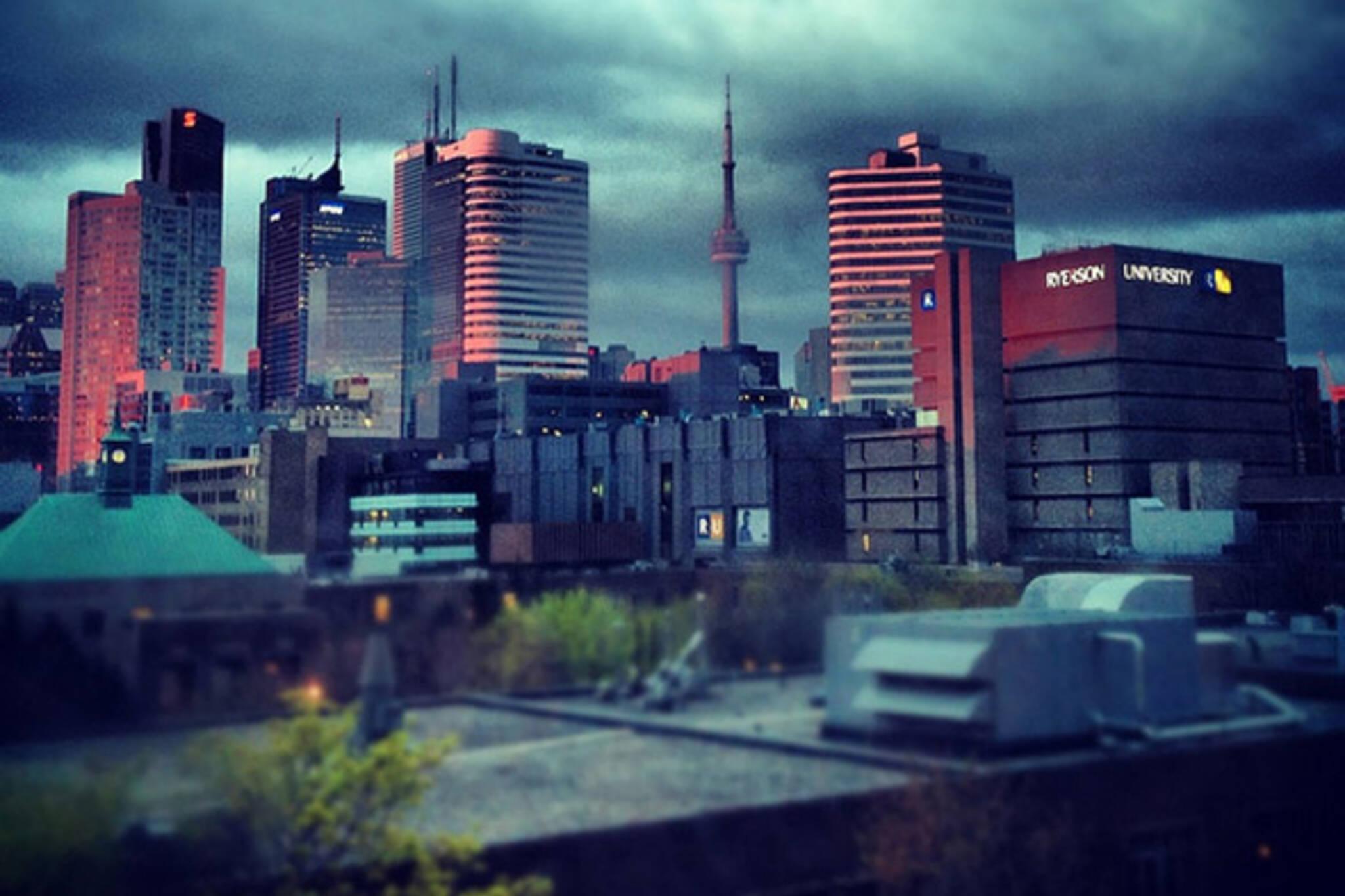 Morning Skyline
