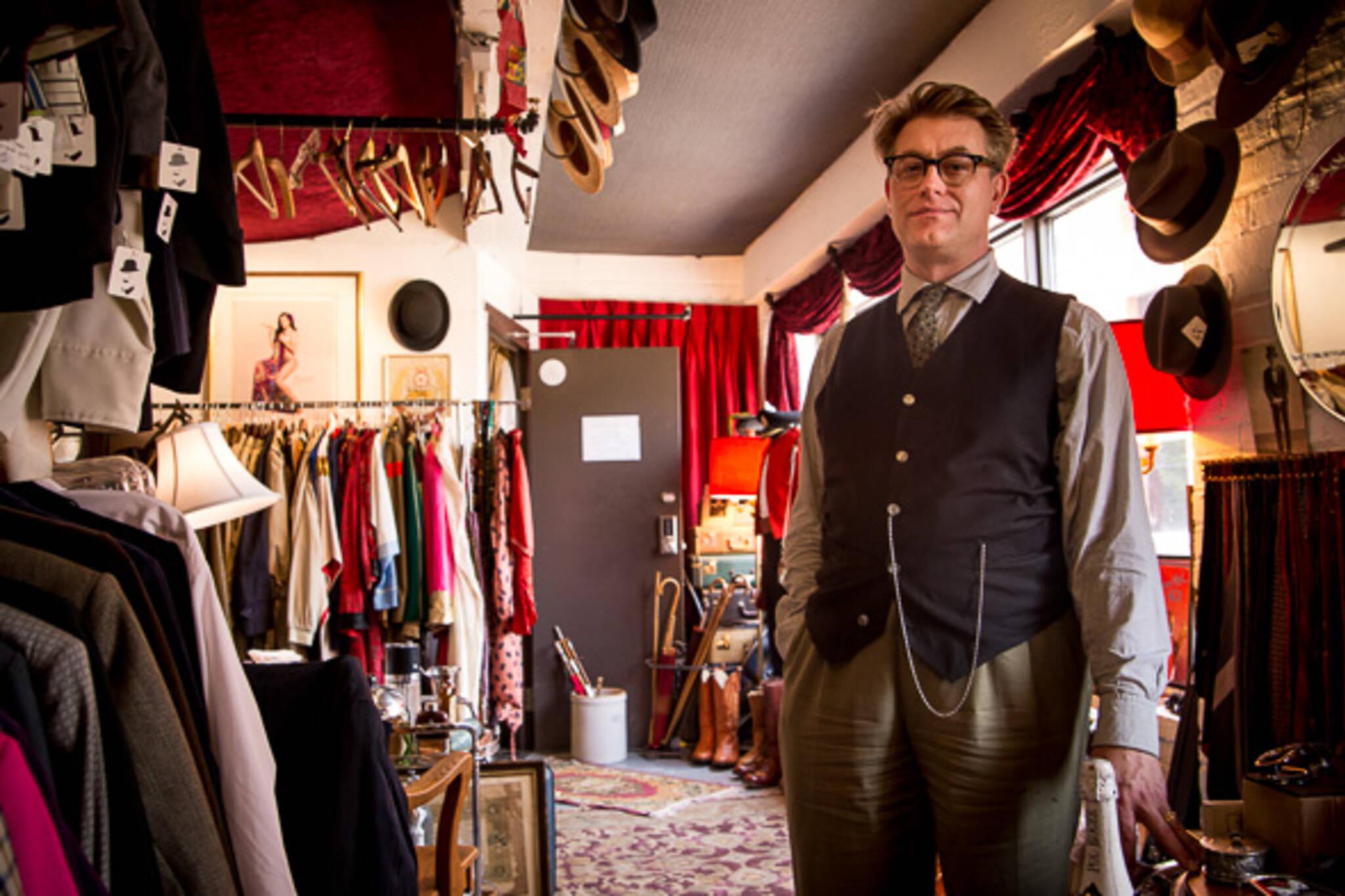 vintage clothing shops toronto