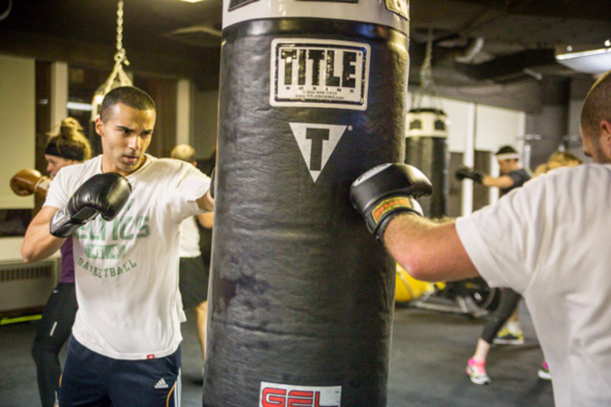 Boxing classes toronto