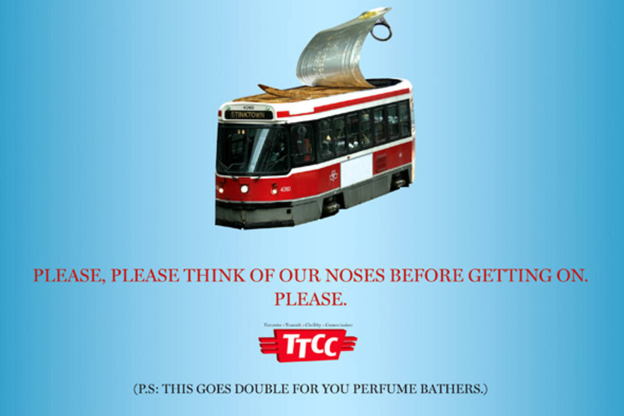 TTC etiquette posters