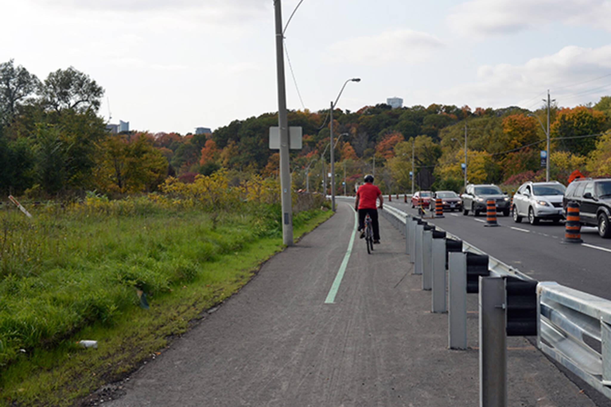 bayview bike lane path