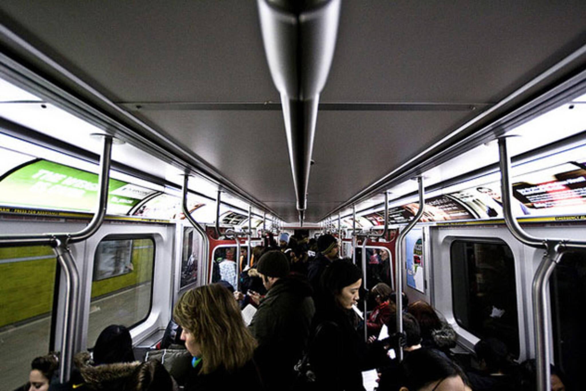 toronto subway car