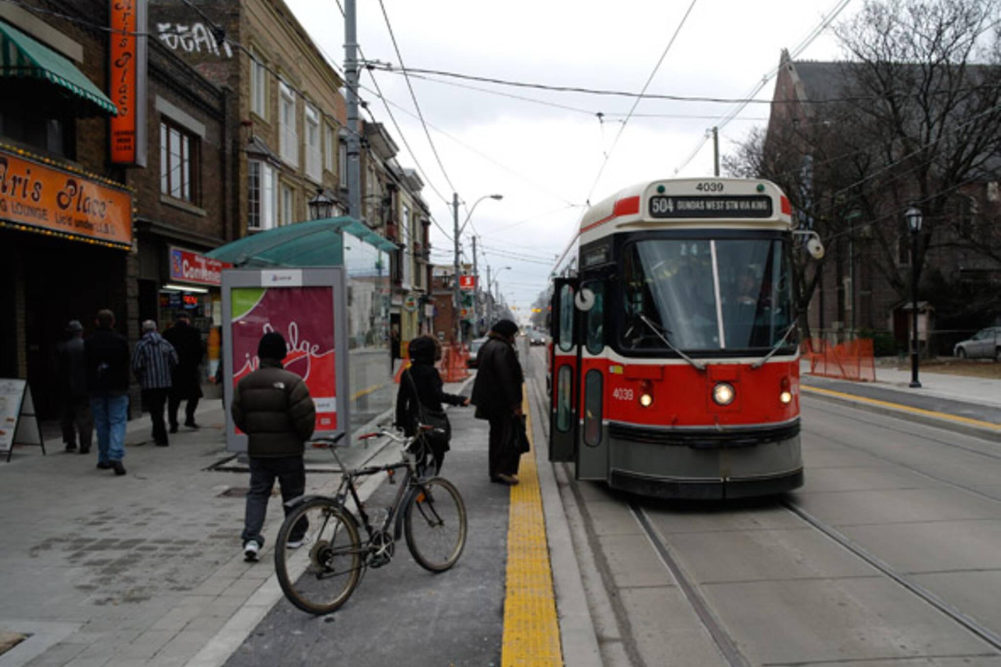 Roncesvalles Transit Platform