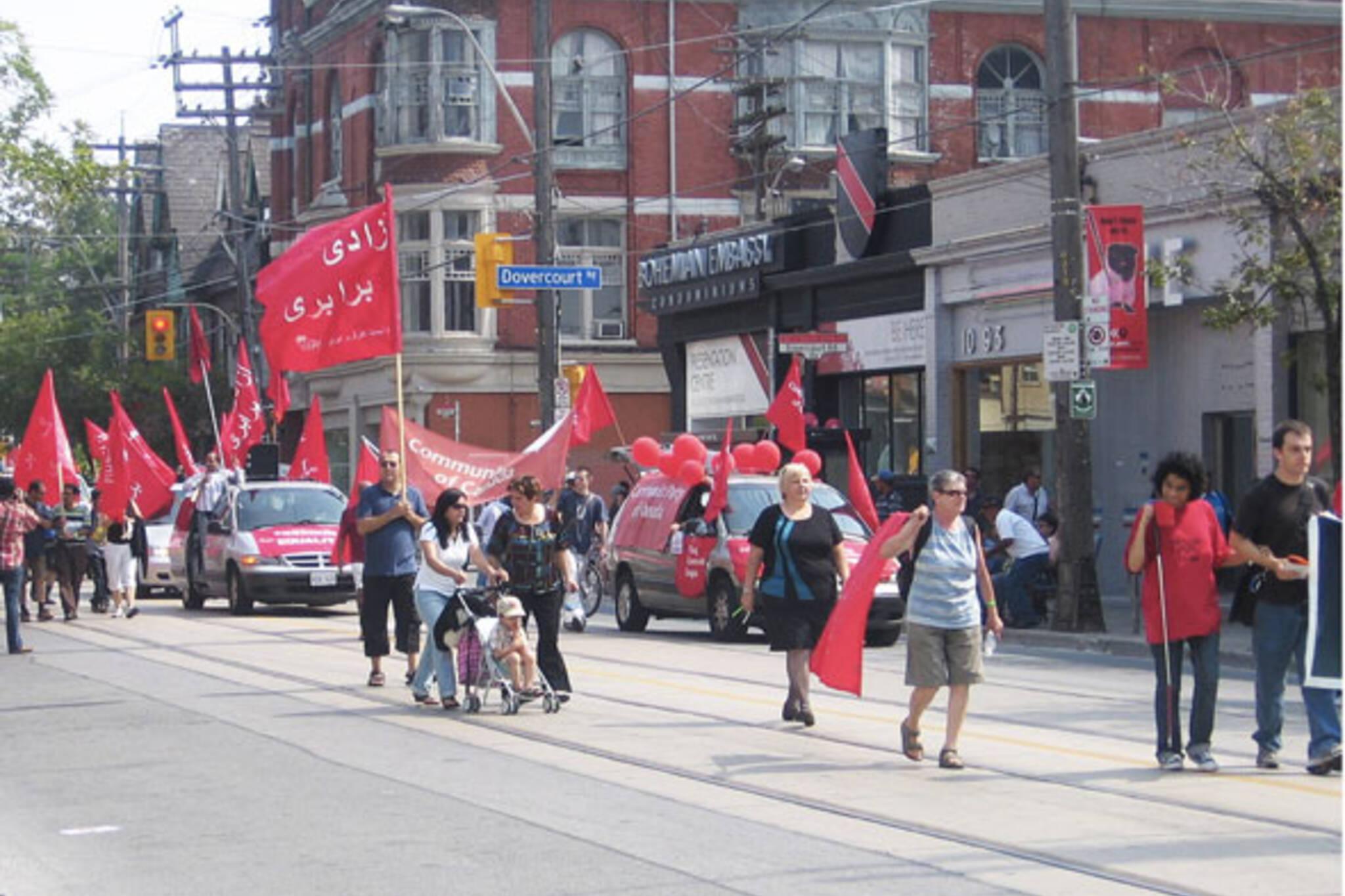 toronto labour day parade