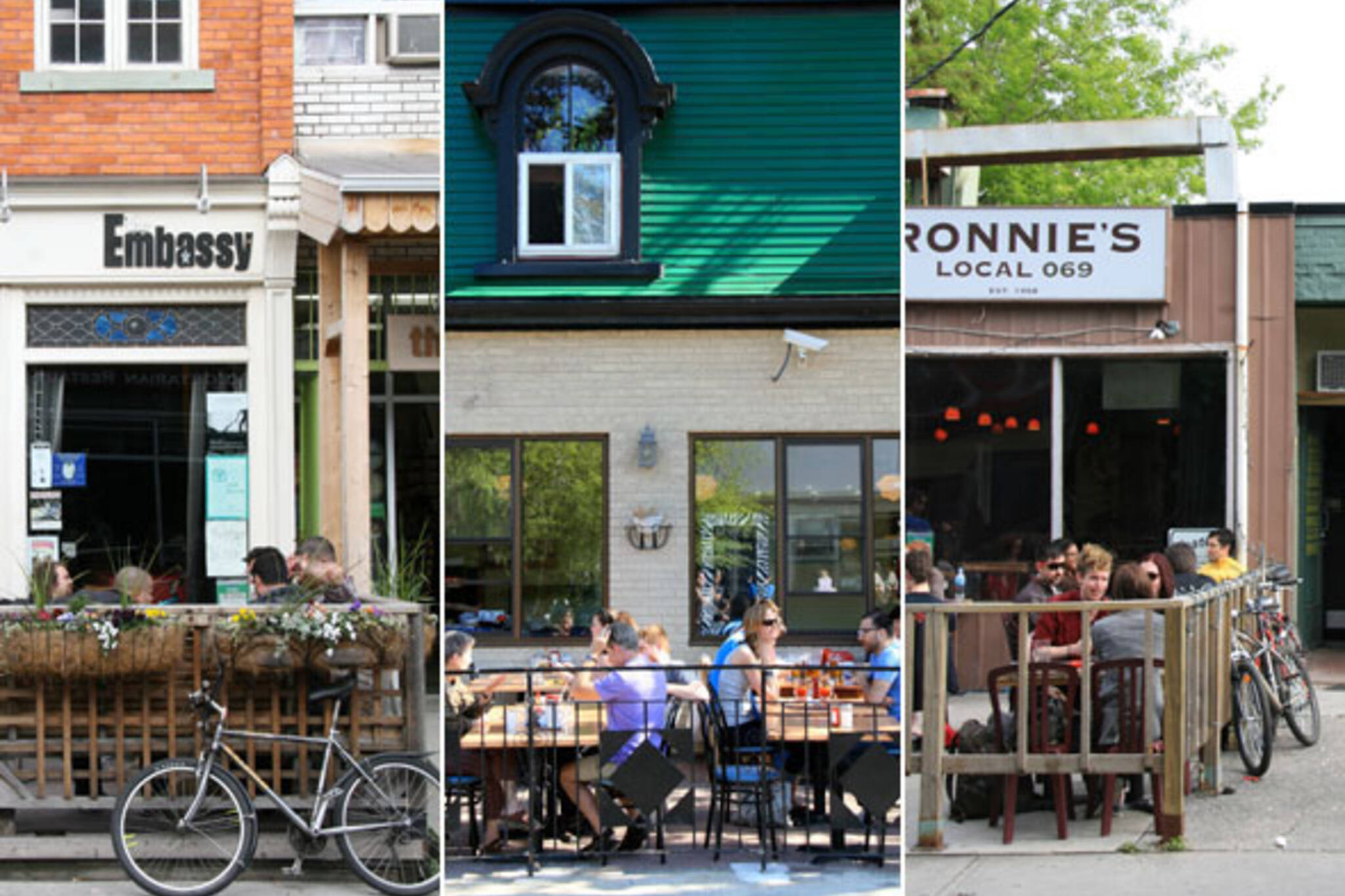 Kensington Market Patios
