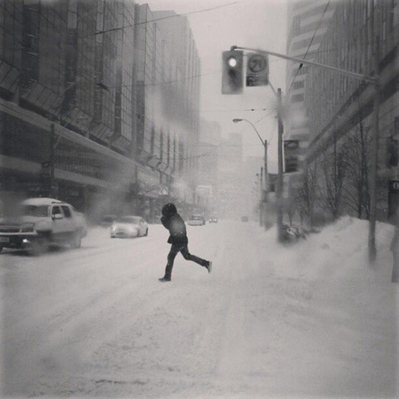 Snowstorm toronto February 2013