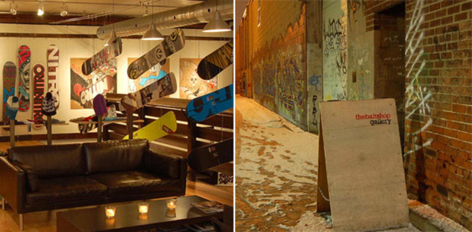 the baitshop gallery toronto