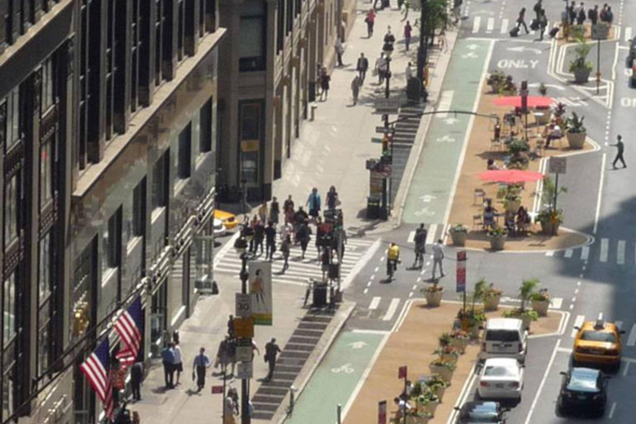 New York bikes Broadway
