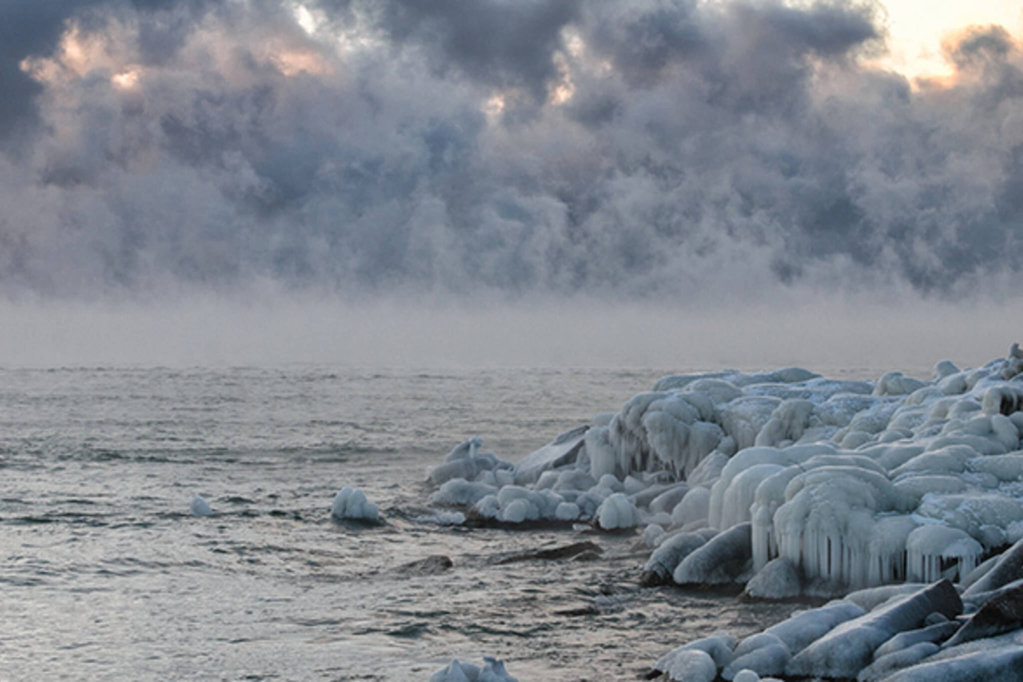 winter fog toronto