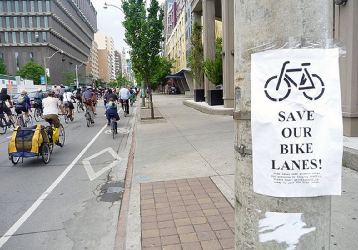 Jarvis Bike Lanes Removal