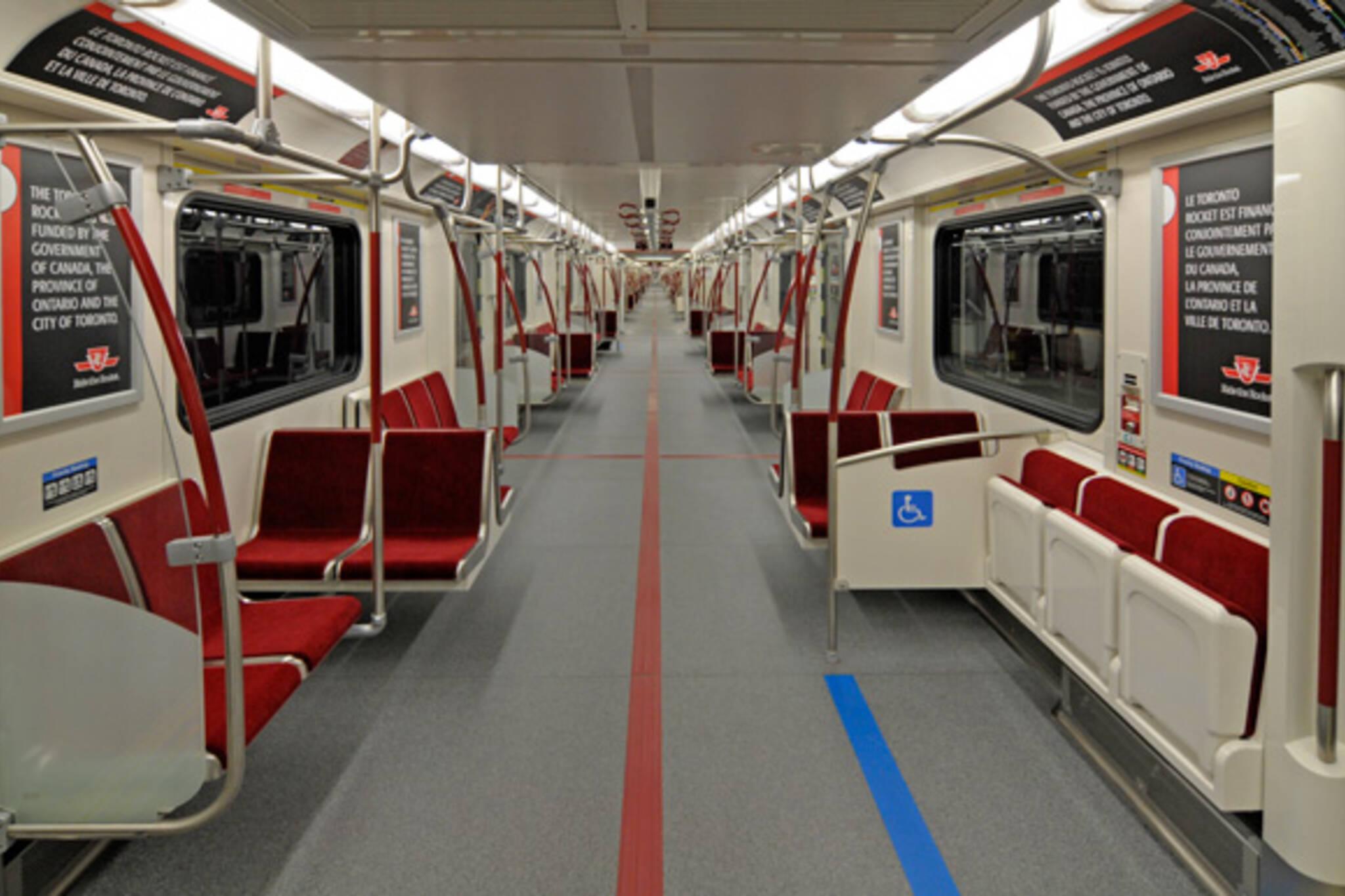 TTC Rocket Subway Trains