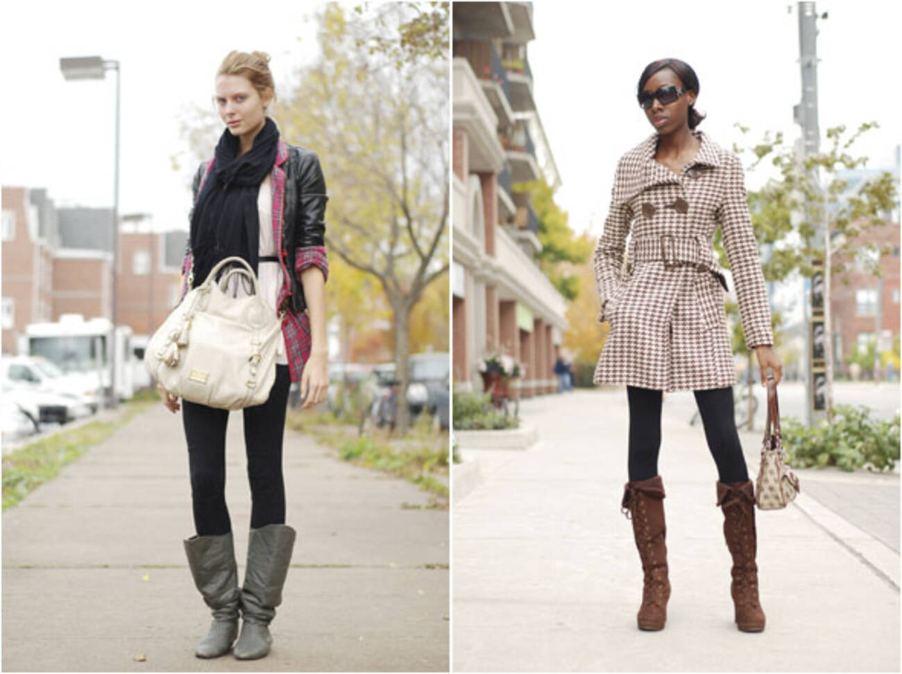 Street Style Grey Skies And Coats