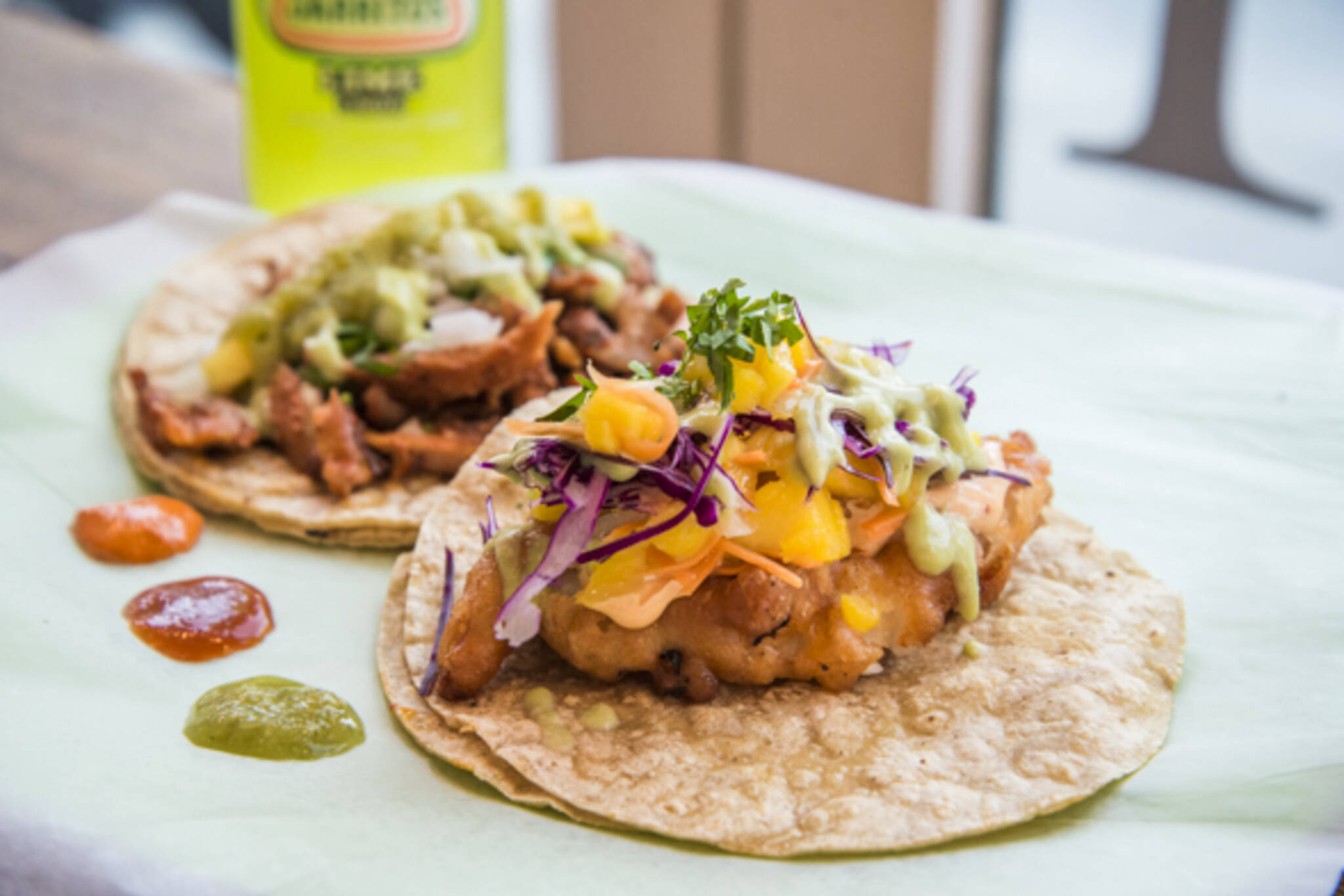 The best fish tacos in toronto for Good fish for fish tacos