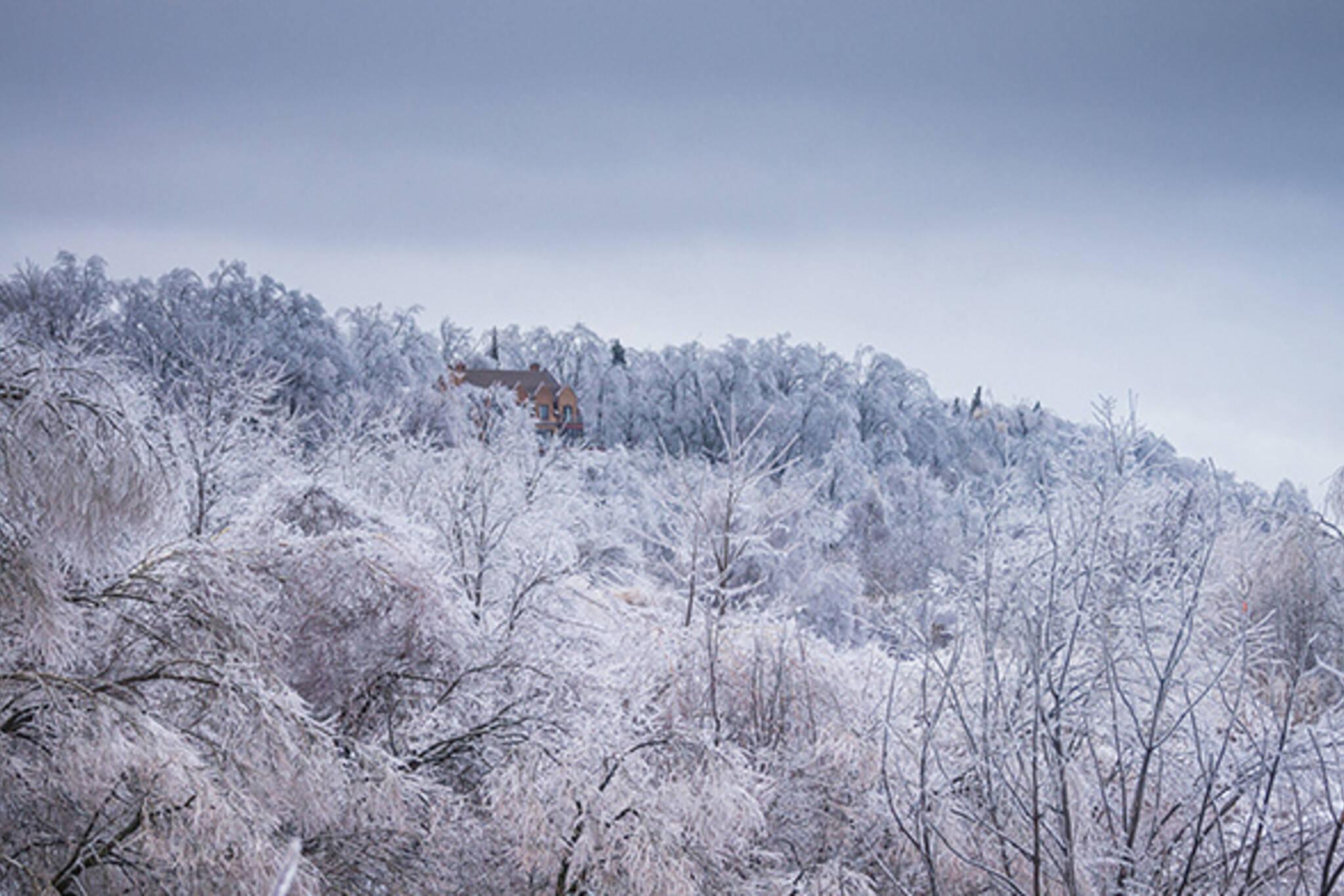 Deep freeze cold Toronto