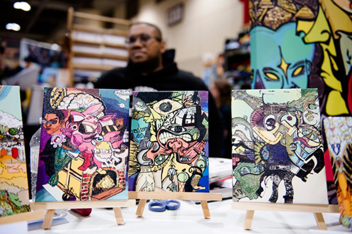 Toronto comic artists