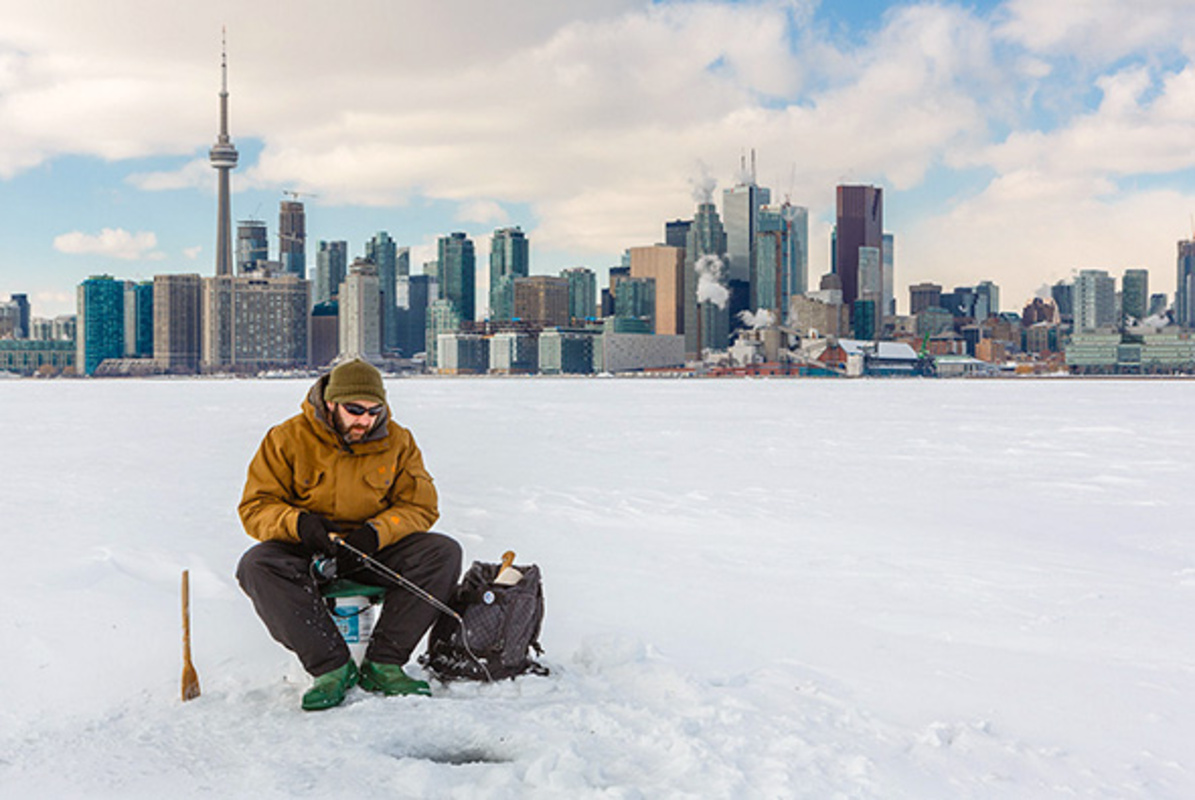 ice fishing toronto