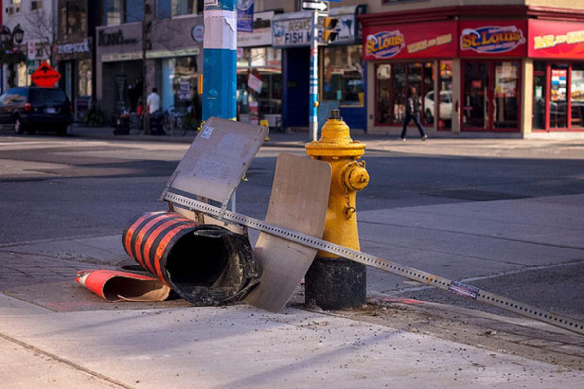 toronto street sign