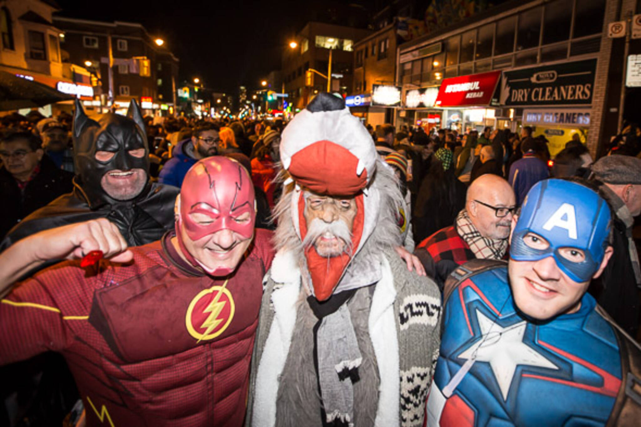 Costume party takes over Church Street for Halloween