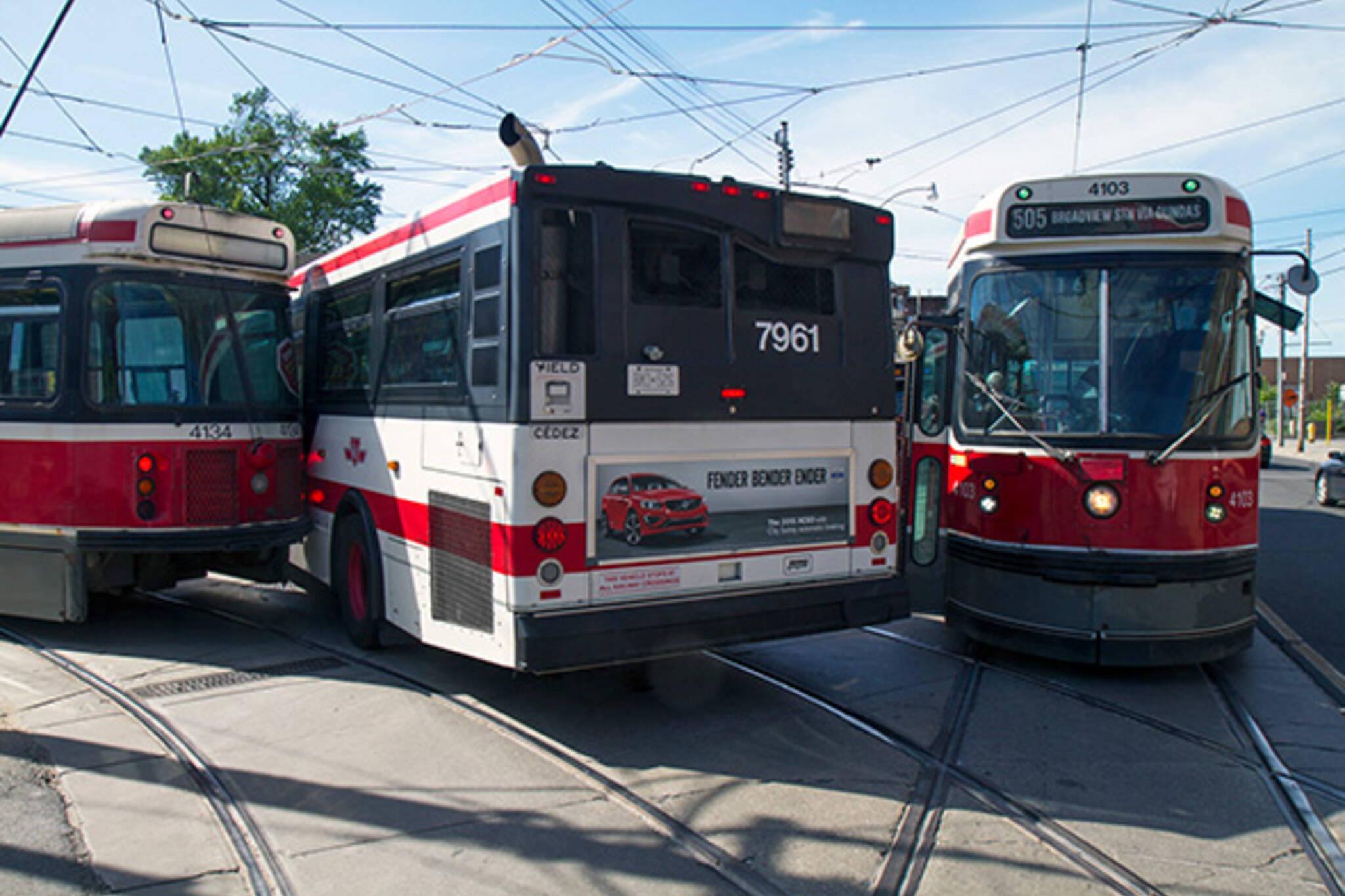 streetcar accident ttc