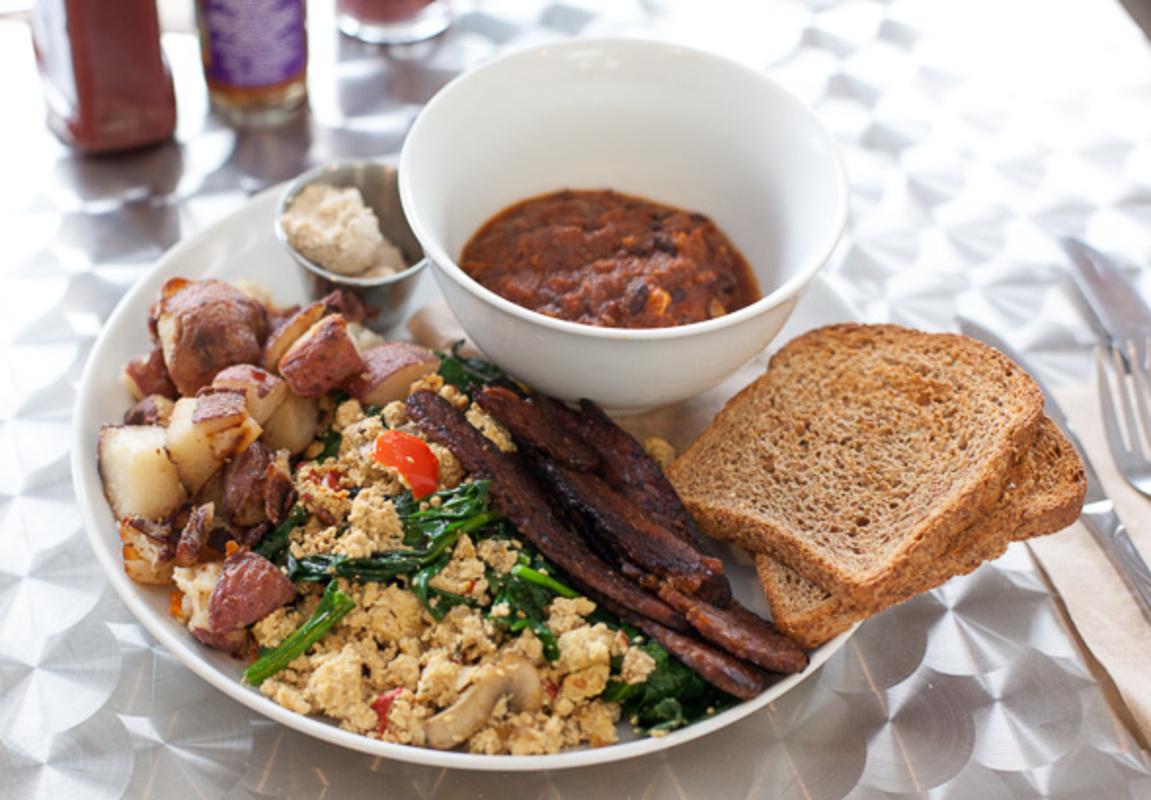vegetarian brunch toronto