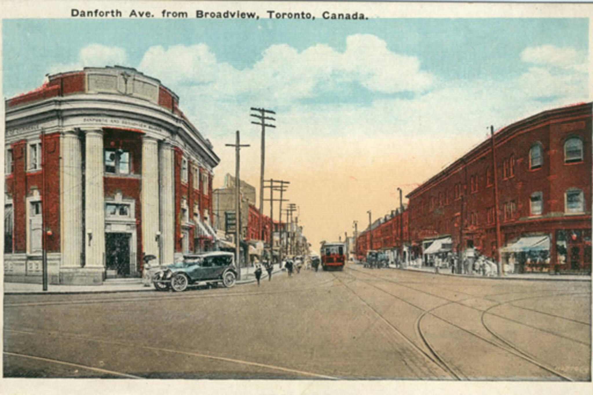 Danforth Toronto history
