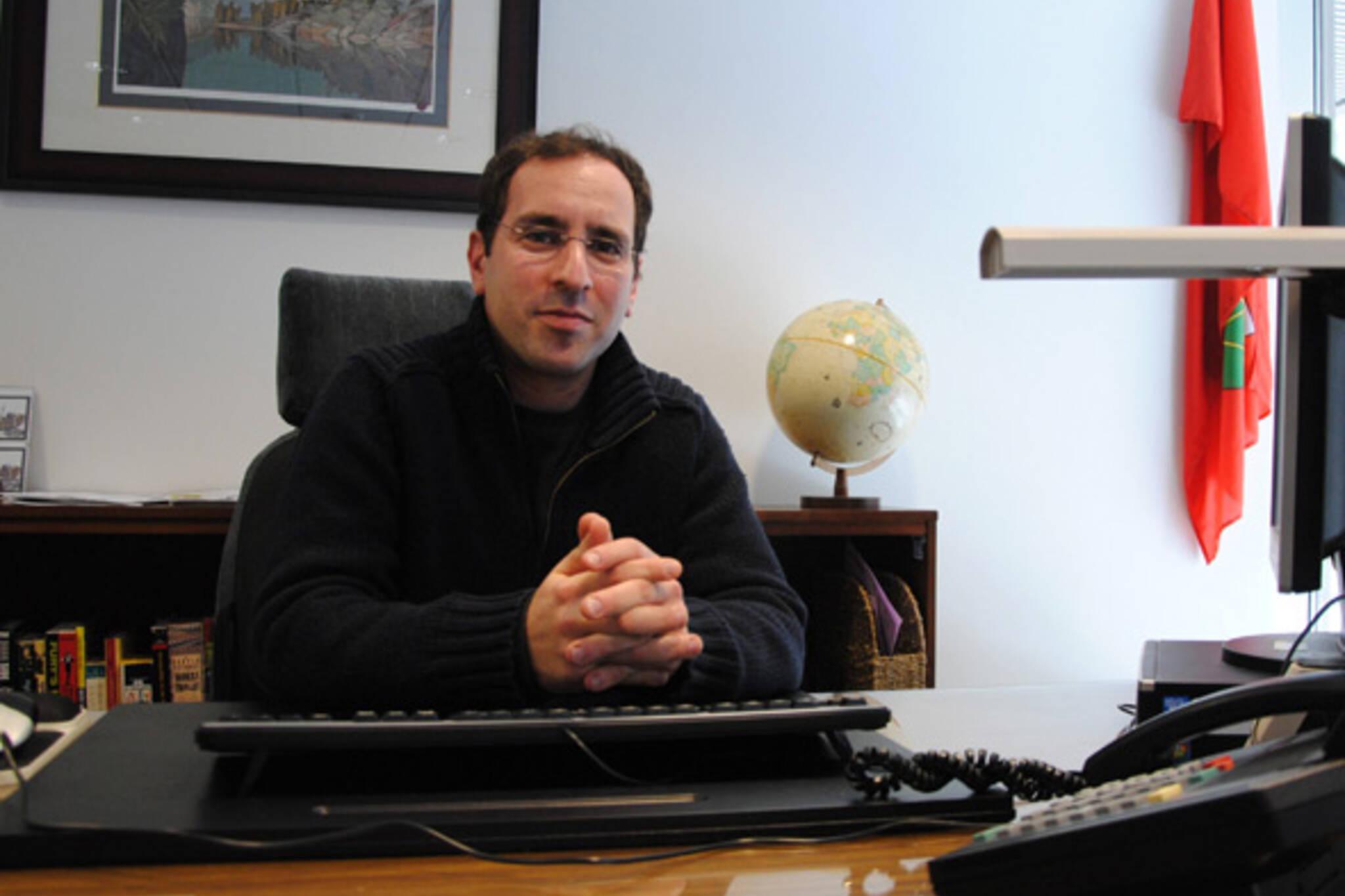 Toronto councillor Josh-Matlow