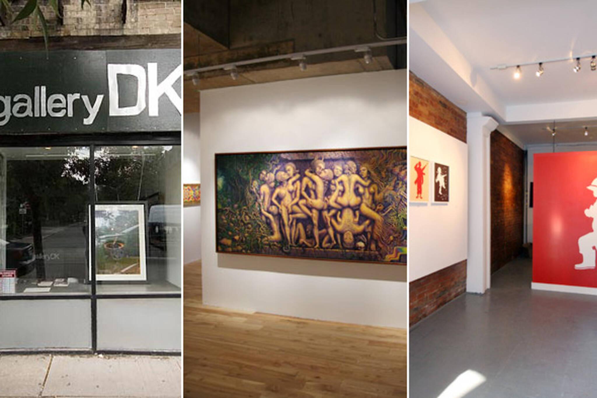 New Art Galleries Toronto