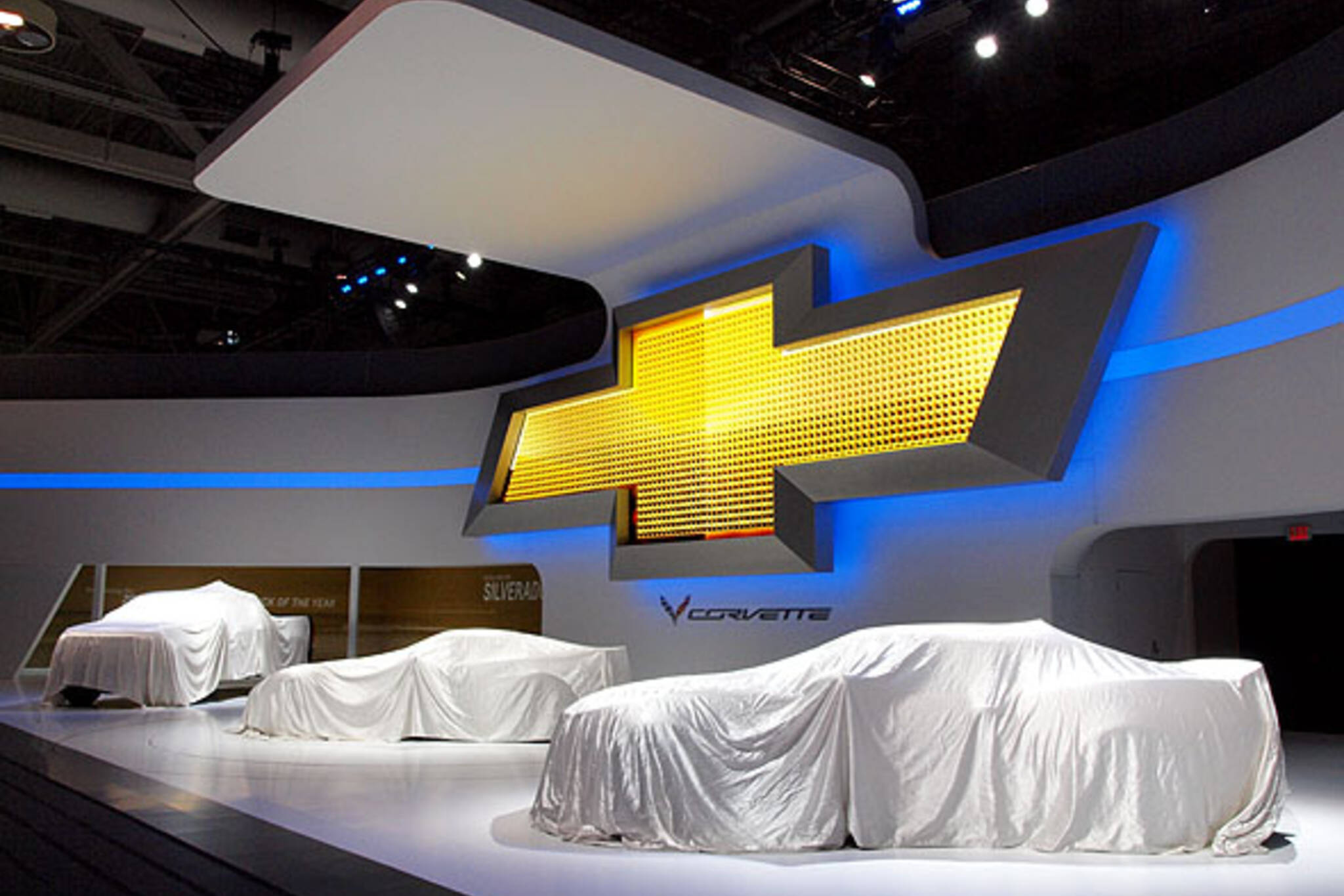 Chevy booth at the 2014 CIAS
