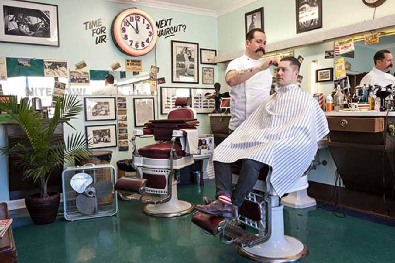 The Barber Shop Spiel