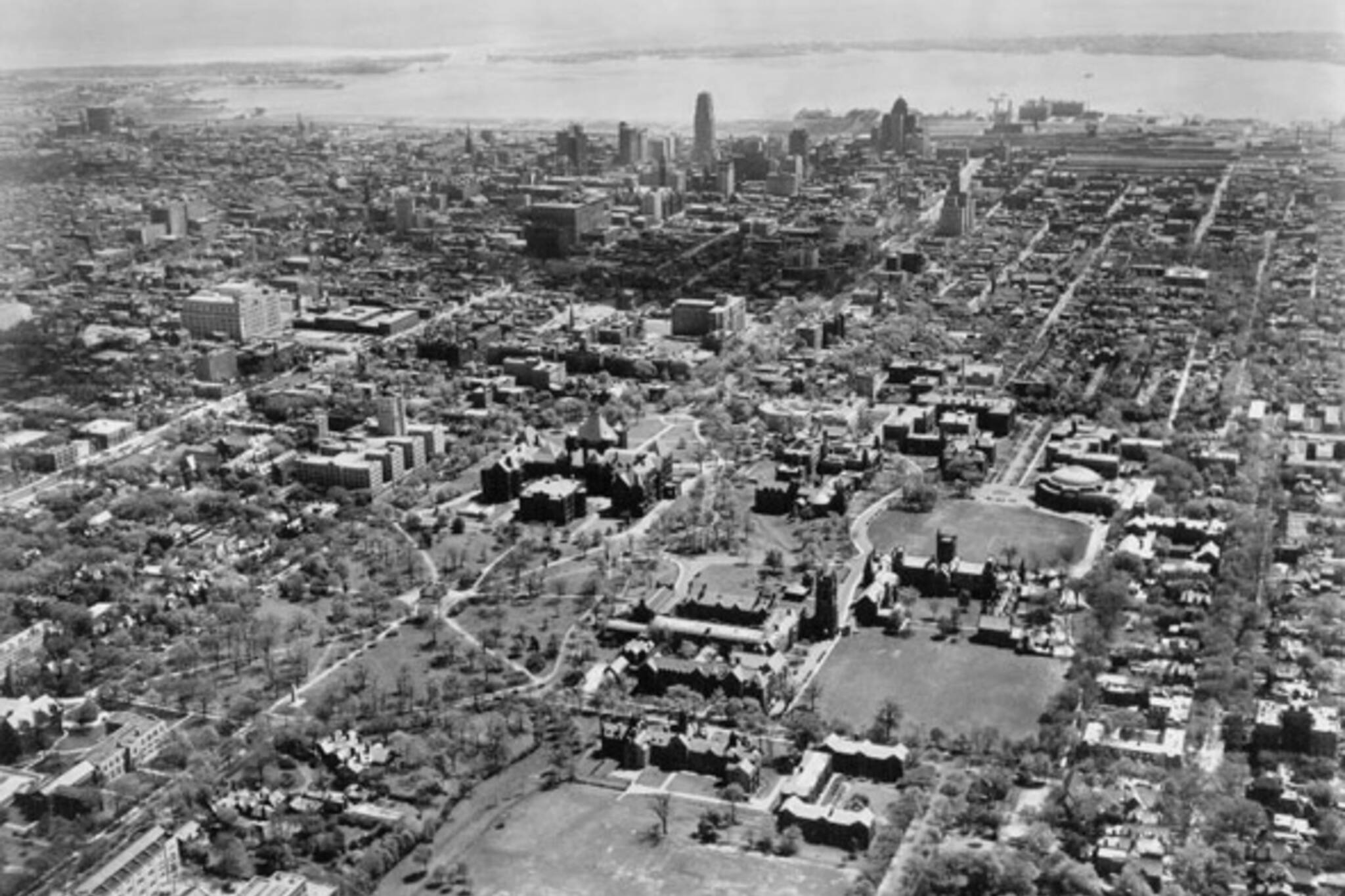 Aerial Photos Historical Toronto