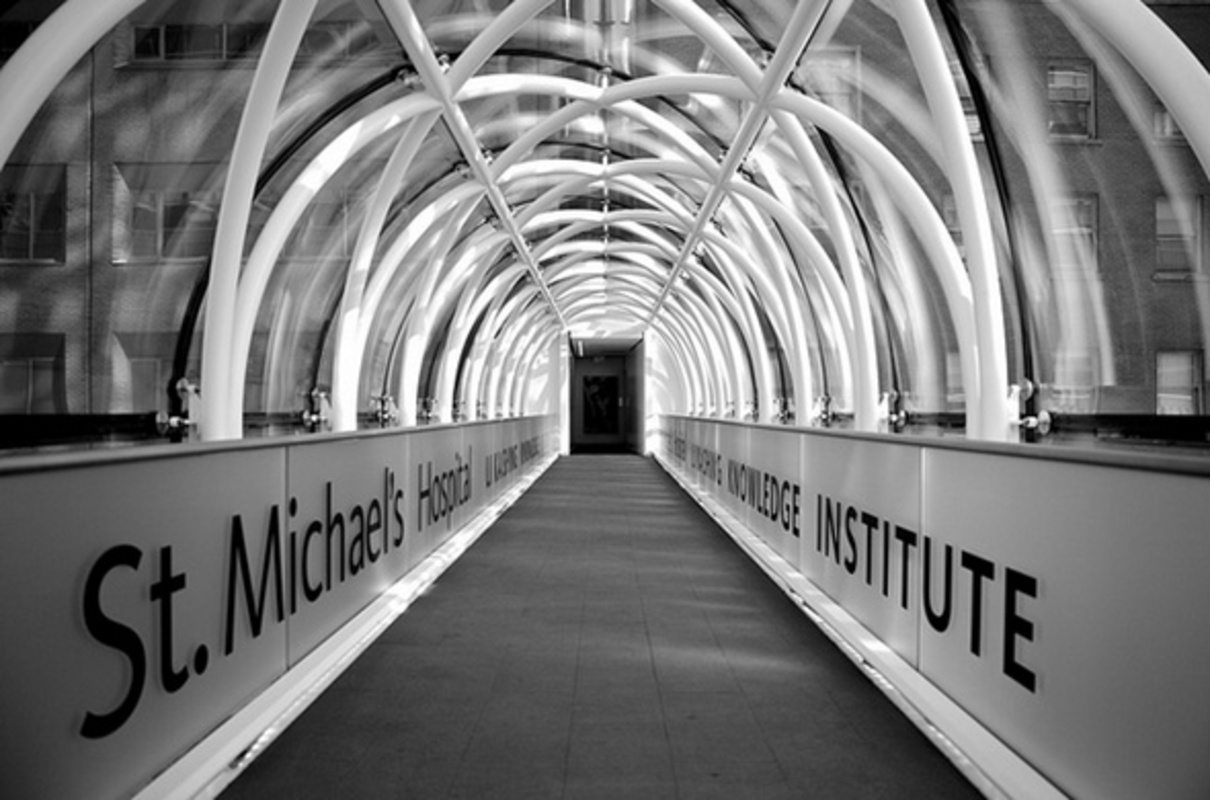 St. Michael's Hospital Bridge