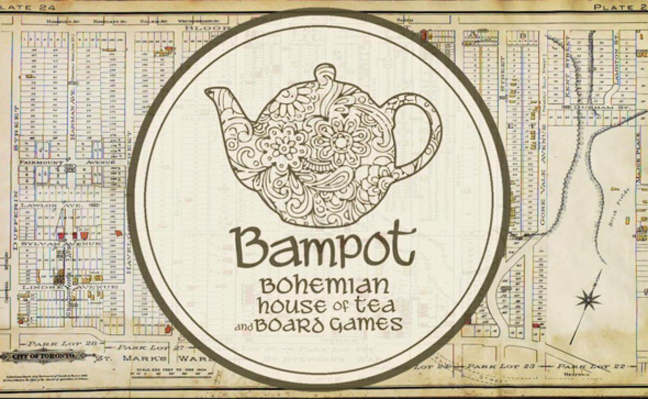 tea board game cafe toronto
