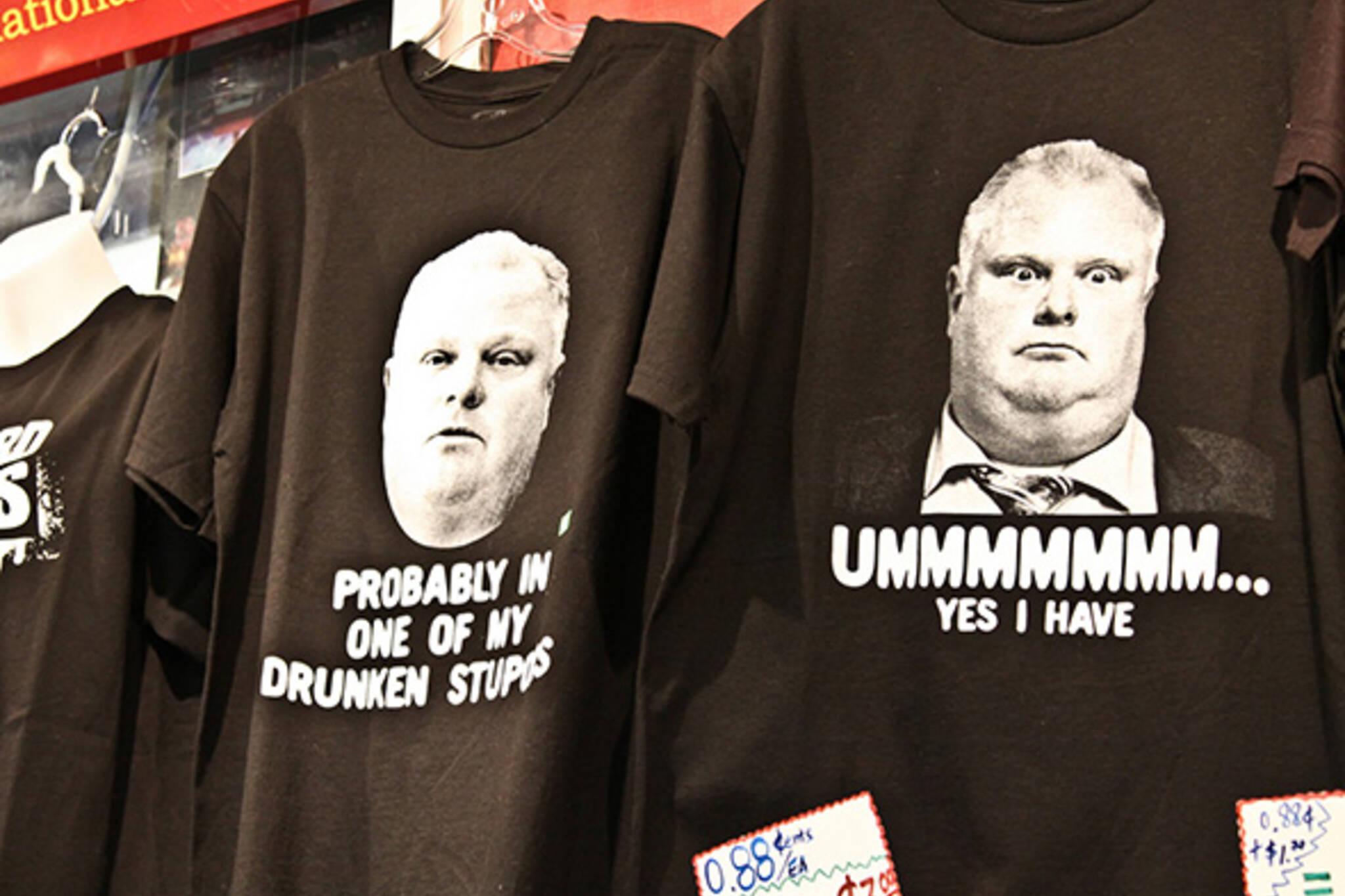 Rob Ford t shirt