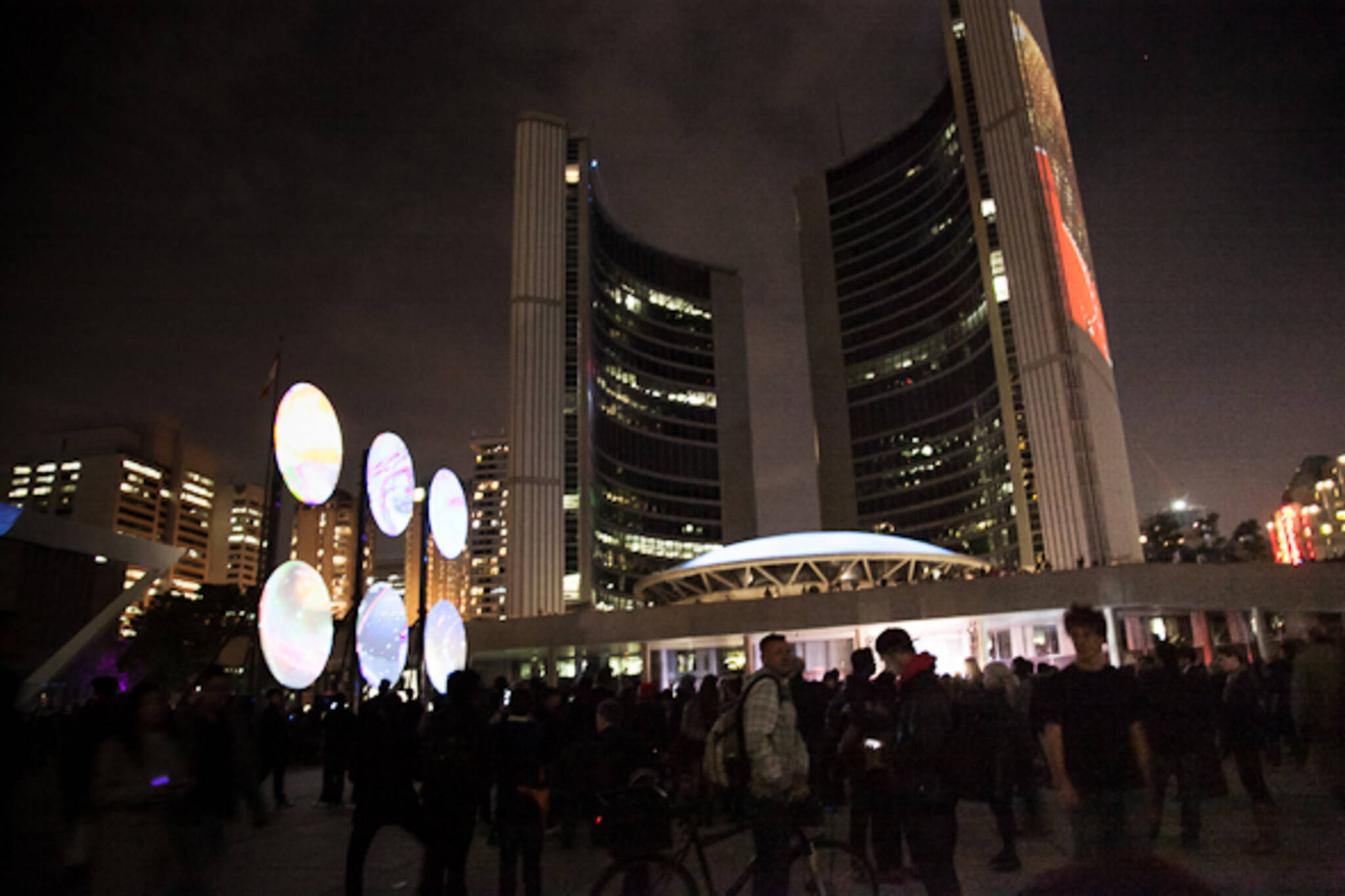 Nuit Blanche 2012 City Hall