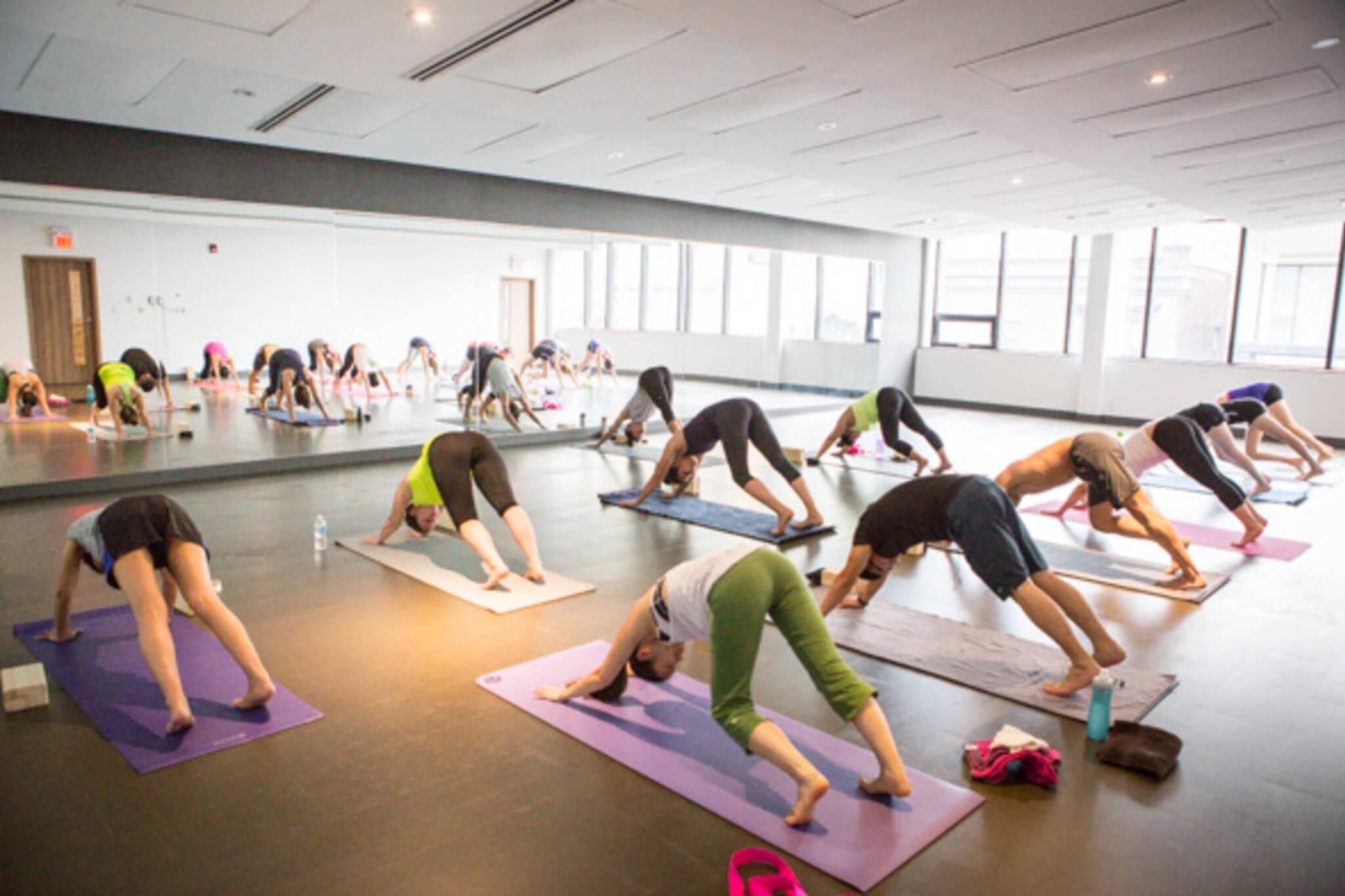 yoga studios toronto