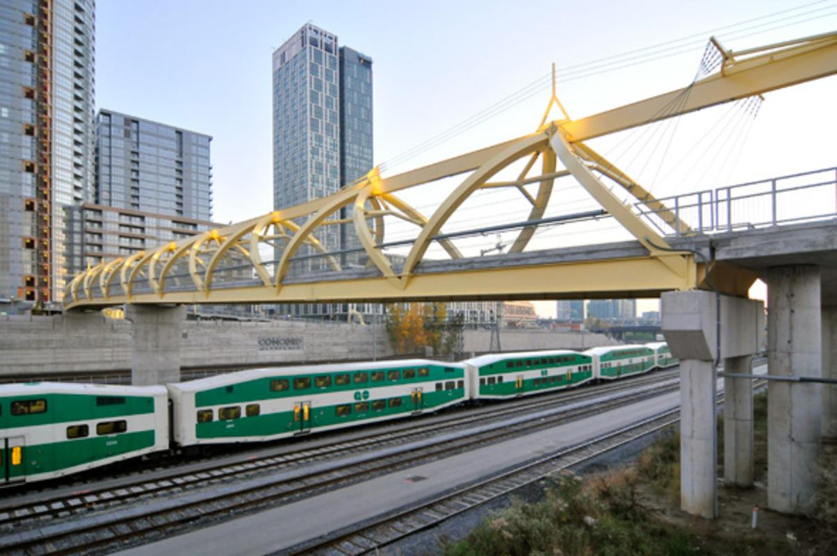 CityPlace Bridge Toronto